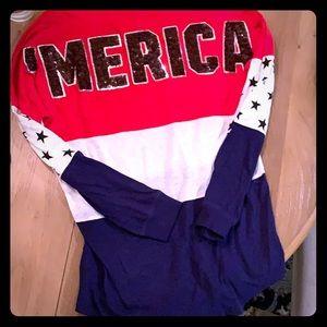 Victoria's Secret PINK America shirt